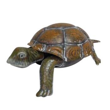 Metal Painted Turtle