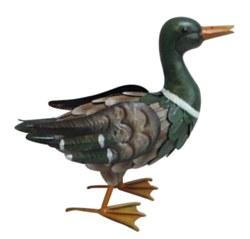 Metal Painted Duck