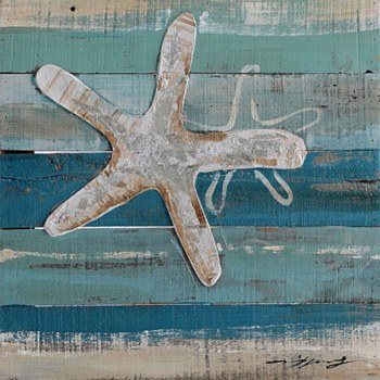 Oil Painting - Starfish