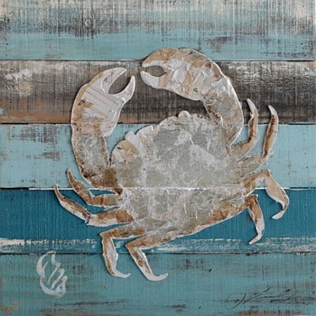 Oil Painting - Crab