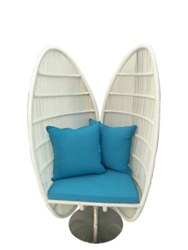 Shell Leisure Chair w/Cush