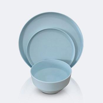 Soleil 12 pcs Dinnerware Set - Light Blue