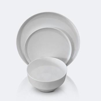 Soleil 12 pcs Dinnerware Set - Snow White