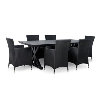Special Dining Set in Aged Bronze