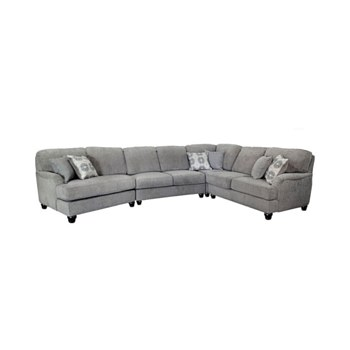 Amherst Sectional with Angeled Sofa