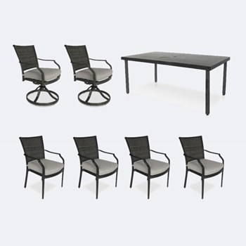 Sunnyvale Dining Set - 6 Chairs
