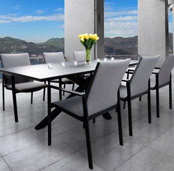 Manhattan Dining Set - 6 Seats