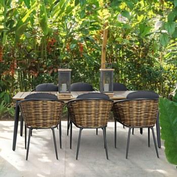 Mayan Dining Set - 6 Seats