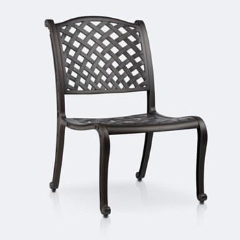 Reel Weave Deep Armless  Chair