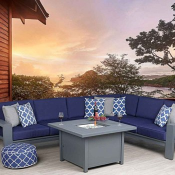 Shoreline Sectional Set