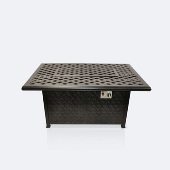 """Weave 32""""x56"""" Firepit Table"""