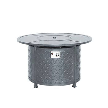 """Weave 42"""" Round Firepit Table"""
