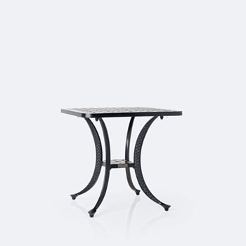 """Weave 21"""" Square Side Table"""
