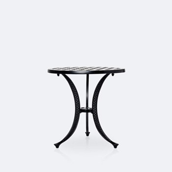 """Weave 21"""" Round Side Table"""