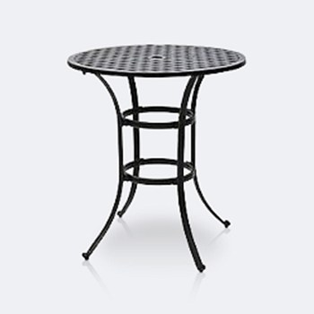"Weave 36"" Round Bar Table"