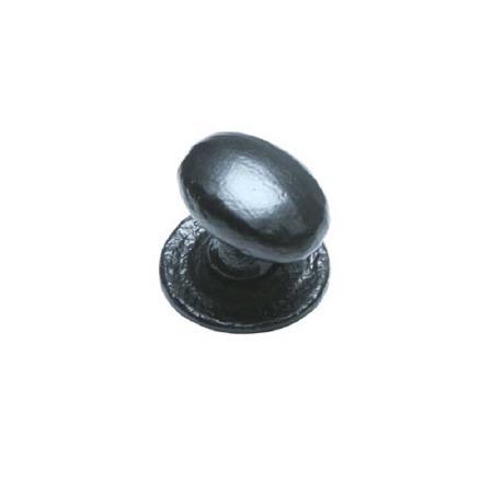 Kirkpatrick 1195 Cupboard Door Knob/Bolt Antique Black