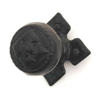 Kirkpatrick 1207 Door Knobs Antique Black