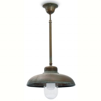 Pisa Fixed Ceiling Light Aged Copper