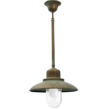 Bianco Fixed Ceiling Light Aged Copper