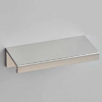 Croft 1400 Linear Cabinet Edge Pull Polished Nickel 100mm