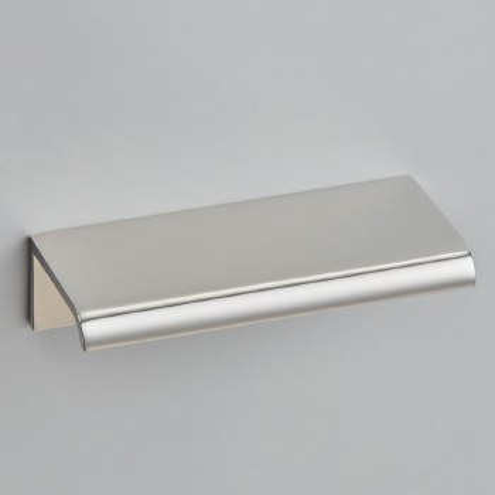 Croft 1405 Arc Cabinet Edge Pull Polished Nickel 100mm