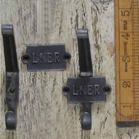 LNER Hat & Coat Hook Waxed Cast Iron