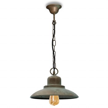 Lucca Ceiling Pendant Light Aged Copper