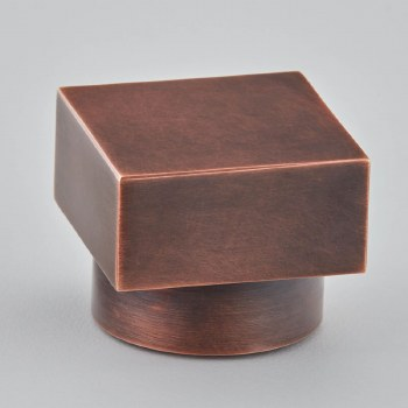 Croft 172 Square Cabinet Knob Autumn Bronze