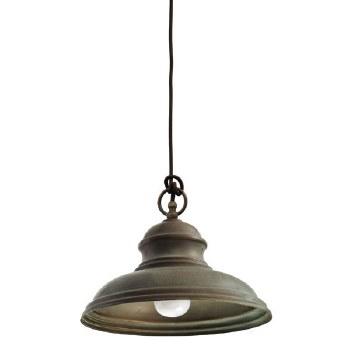 Enna Ceiling Pendant Light Aged Copper