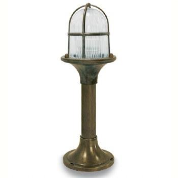 Veneto Outdoor Post Light Aged Copper