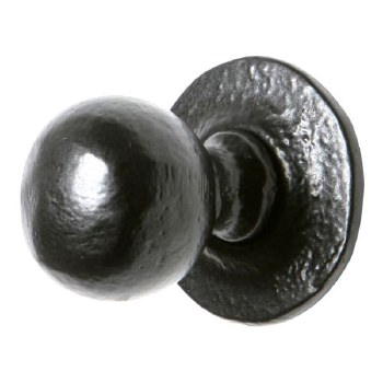 Kirkpatrick 1949 Cupboard Door Knob Bolt Fix Antique Black