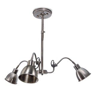 Luci Chandelier 3 Light Aged Nickel