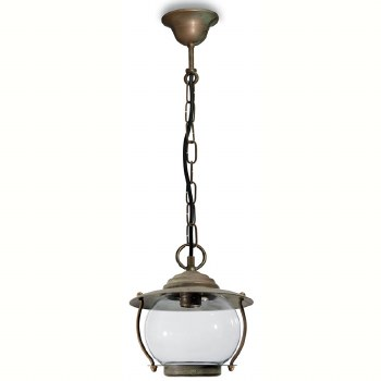Bolzano Porch Hanging Pendant Light Aged Copper