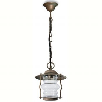 Cremona Porch Hanging Pendant Light Aged Copper