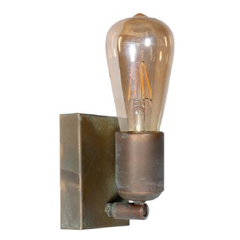 Otranto Adjustable Wall Light Aged Copper