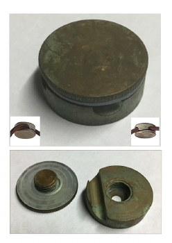 Pendant Height Adjuster Aged Copper