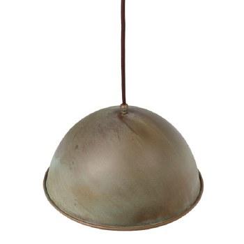 Milan Ceiling Pendant Light 300mm Aged Copper