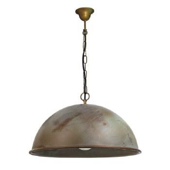 Milan Chain Porch Ceiling Pendant Light 500mm Aged Copper