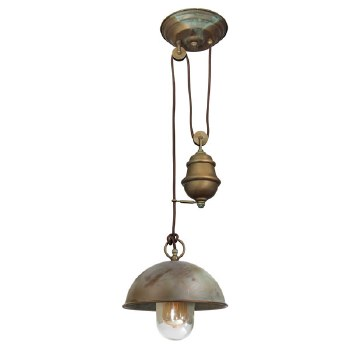 Milan Rise & Fall Light Aged Copper