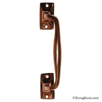 Kirkpatrick Pull Handle Mellow Polished Bronzed