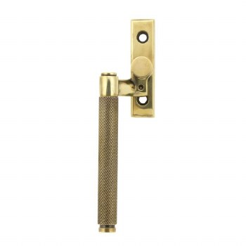 From The Anvil Brompton Window Espag Handle LH Aged Brass