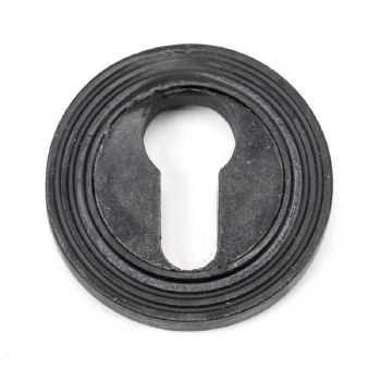 From The Anvil Round Euro Profile Escutcheon Beehive External Beeswax