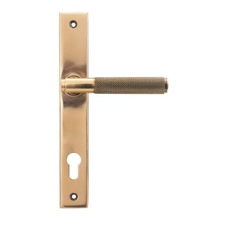 From The Anvil Brompton Slim Espag Lock Polished Bronze