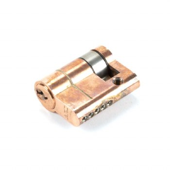 From The Anvil Euro Single Cylinder Polished Bronze 30/10