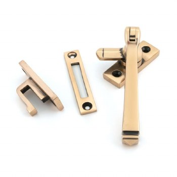 From The Anvil Avon Window Fastener Polished Bronze