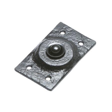 Kirkpatrick 4748 Door Bell Push Antique Black