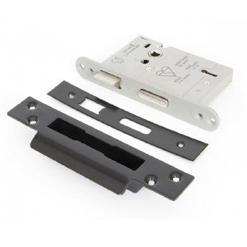 """From The Anvil 5 Lever Heavy Duty Sash Lock BS 3"""" Stainless Steel Keyed Differ"""