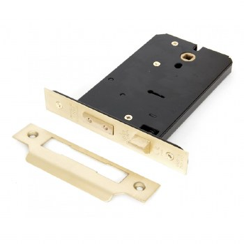 """From The Anvil 5 Lever Horizontal Mortice Lock 6"""" Polished Brass"""