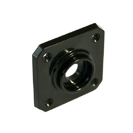 BROLITE 6060 Bakelite Square Back-plate ONLY Black