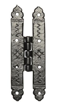 Kirkpatrick 619 H-Type Door Hinge Antique Black